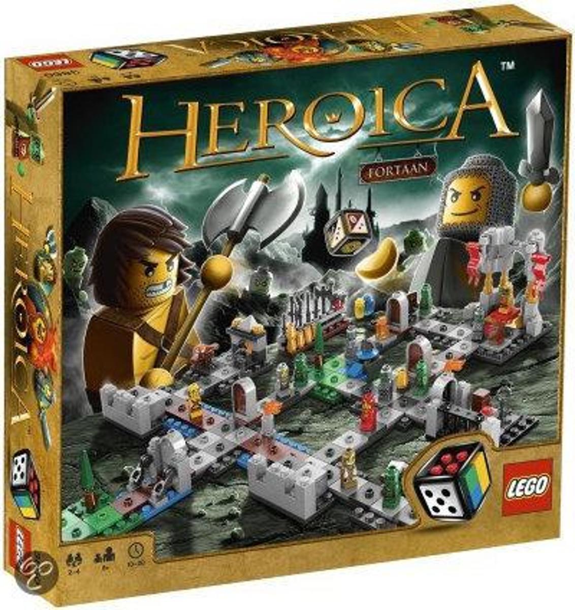 Lego Spel: heroica slot fortaan (3860)