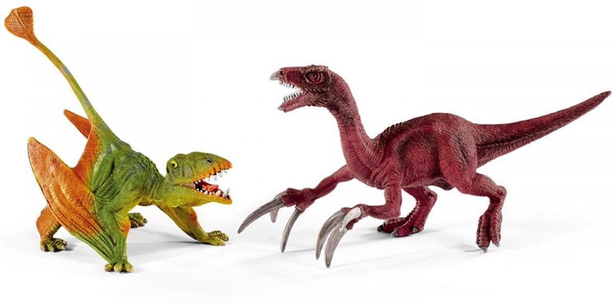 Dimorphodon en Therizinosaurus Klein