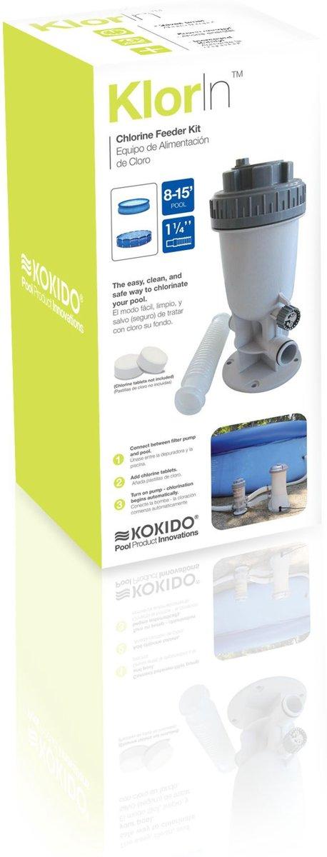Kokido Klor-In Chloor Doseersluis - Slangaansluiting van 32 mm