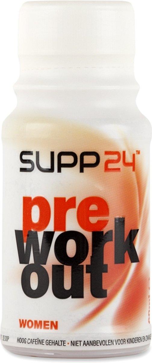 SUPP24 Pre Work Out Women (12x60ml) 12x60ml Mango-Peer white kopen