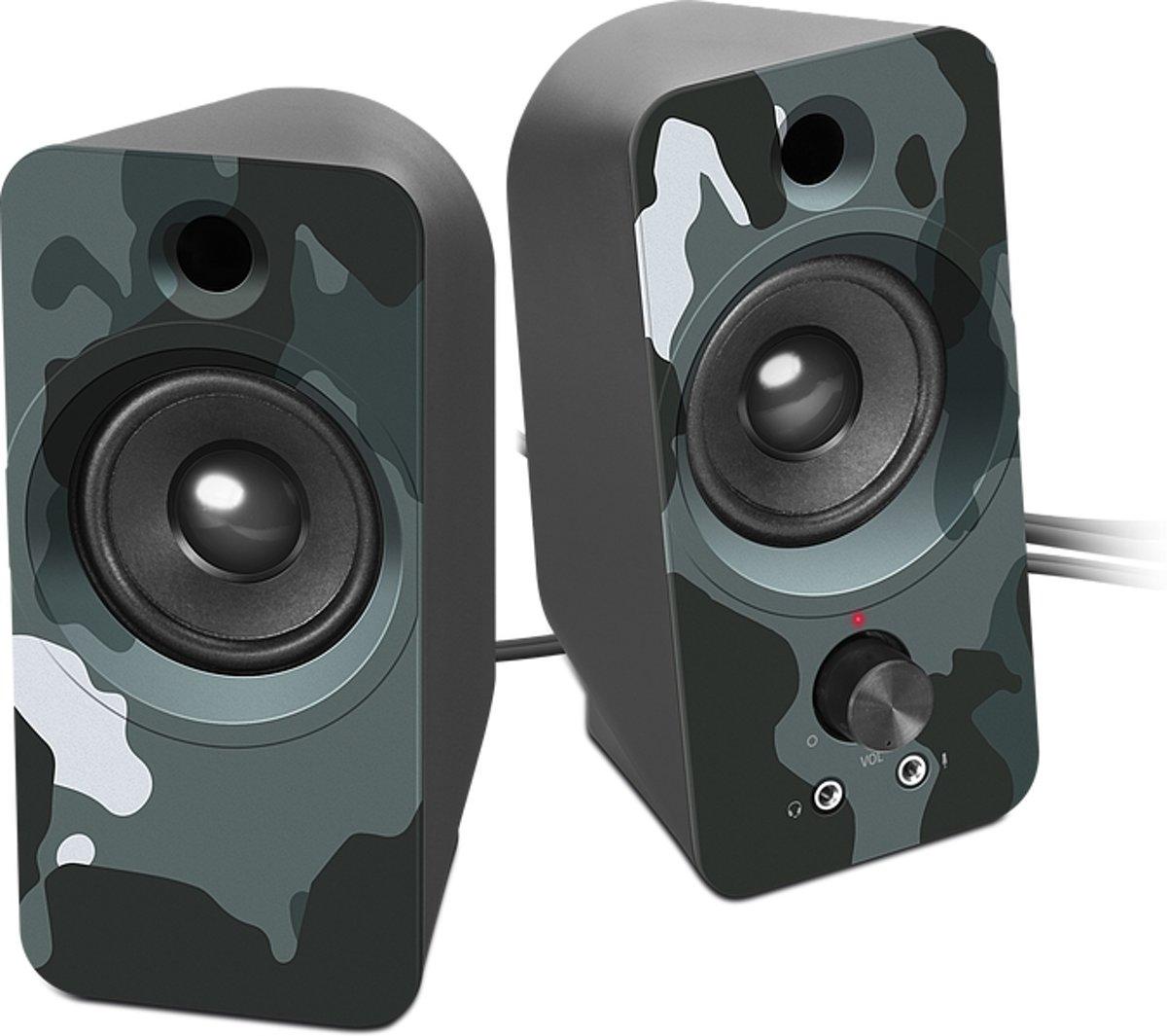 Speedlink Daroc Stereo Speaker - Blauw Camouflage kopen