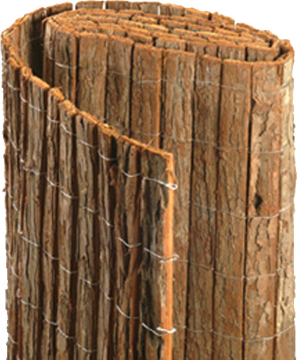Boomschorsmat op rol hoogte 200 cm lengte 300 cm - Tuinafscheiding