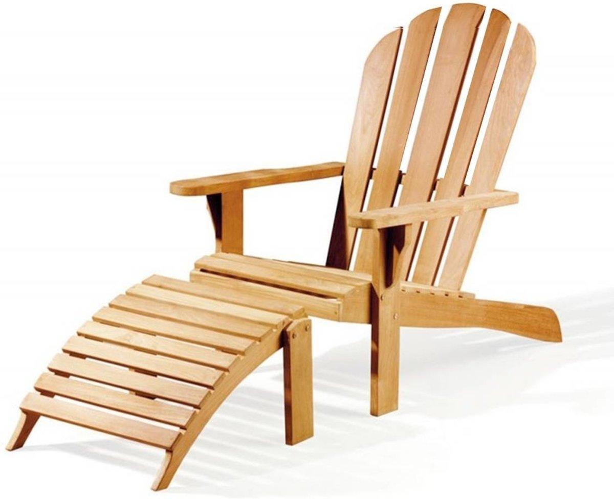 Teak Bear chair + footrest kopen