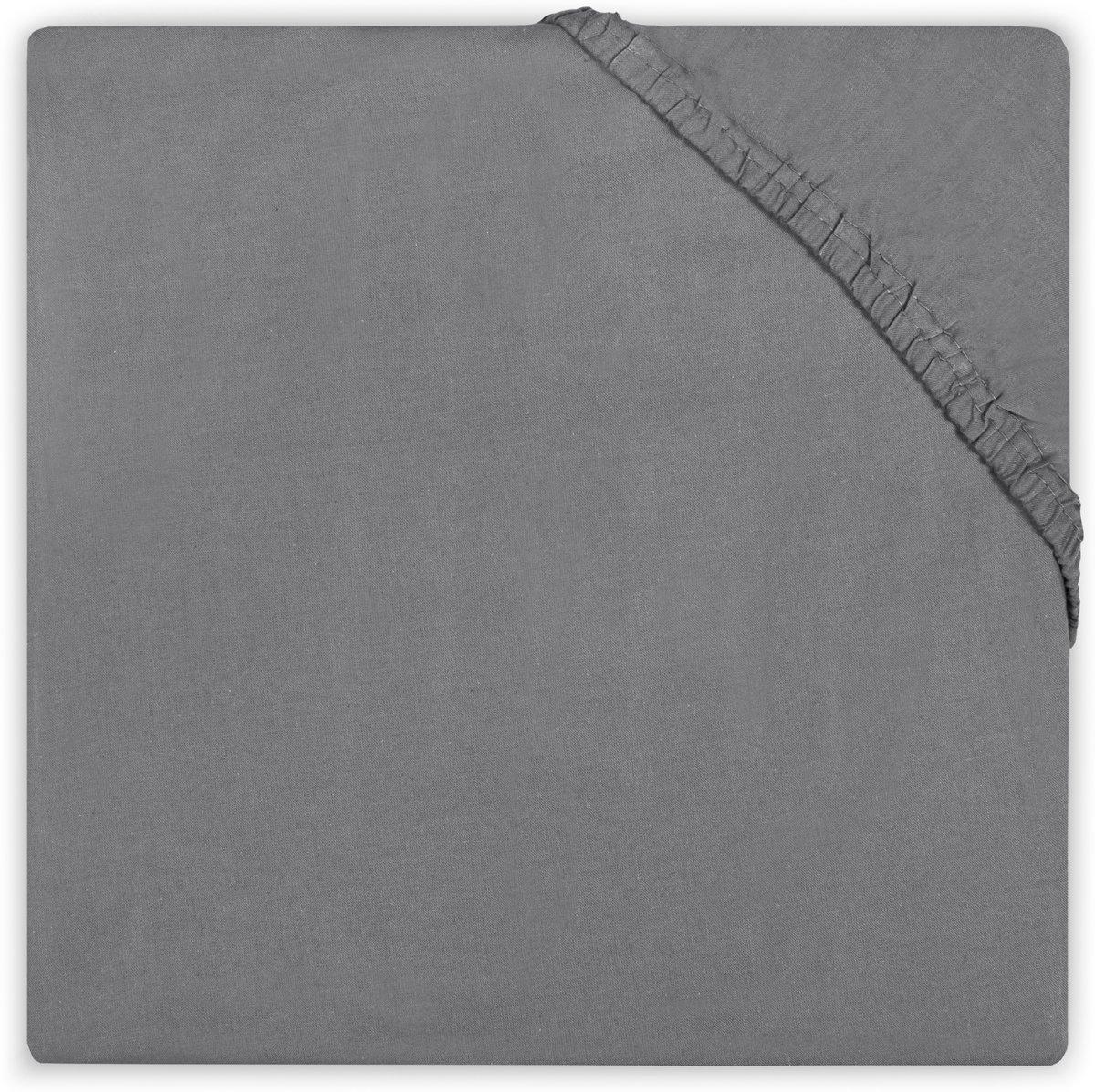 Little Lemonade Hoeslaken jersey 70x140/75x150cm dark grey