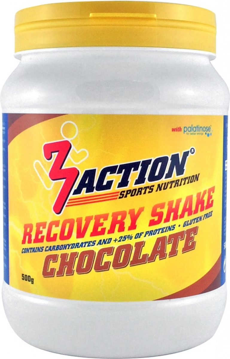 3action Recovery Shake Chocolade 500 Gram kopen