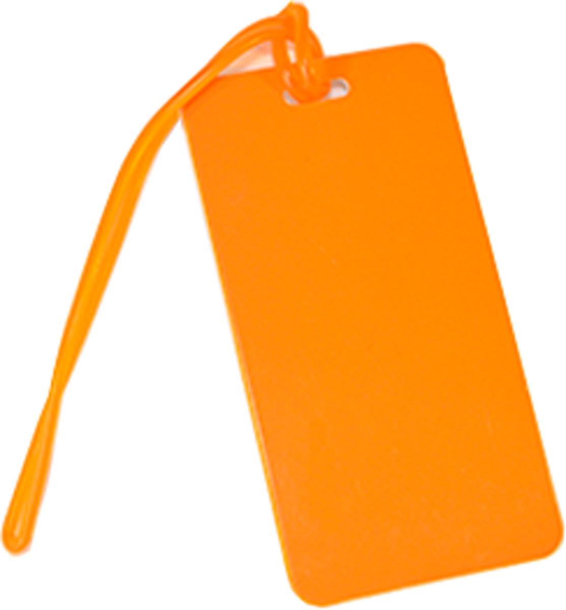 Kofferlabel / bagagelabel Oranje met QR-code kopen