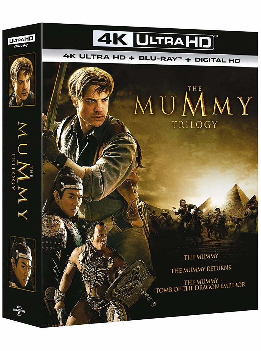Mummy Trilogy (4K UHD + blu-ray)-