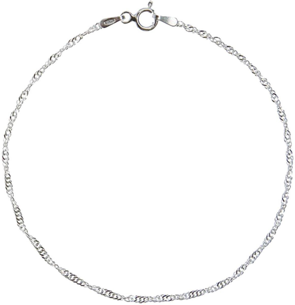 Lucardi - Zilveren enkelband kopen