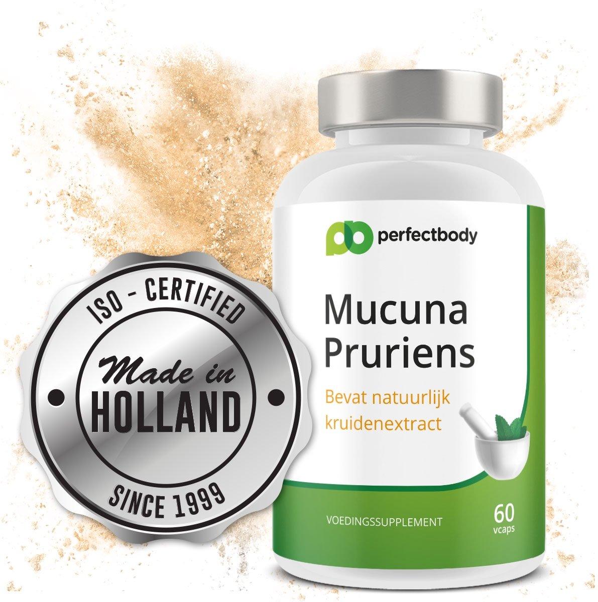 Mucuna Pruriens - 60 Vcaps - PerfectBody.nl kopen