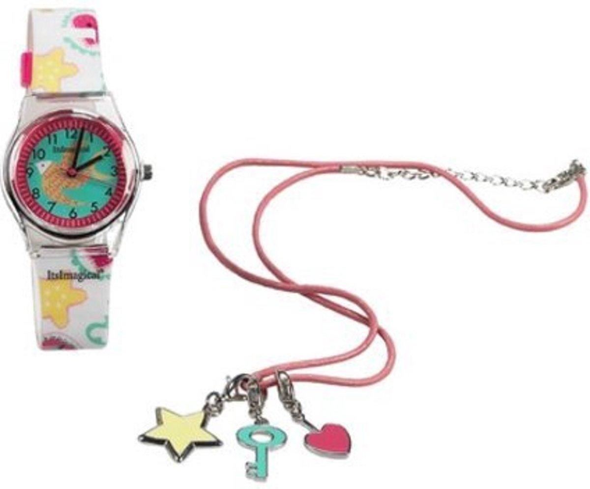 Imaginarium MY WATCH CHARM KIT - Cadeauset Horloge en Halsketting - Meisjes kopen