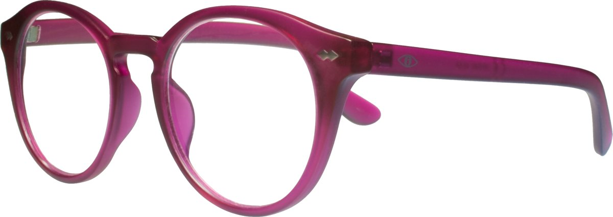 Icon Eyewear KFI340 +1.00 Jamie BlueShields Leesbril - blauw licht filter lens - Framboos kopen