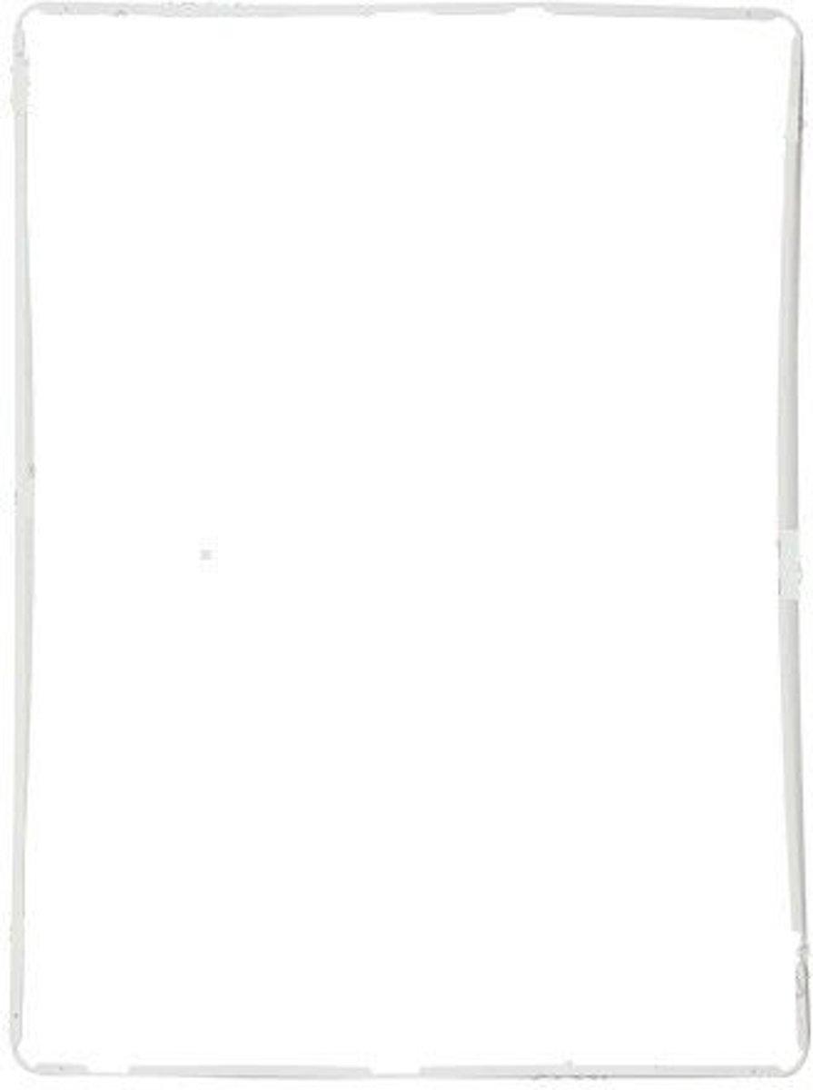 Ipad 2/3/4 middenframe - plastic- wit kopen