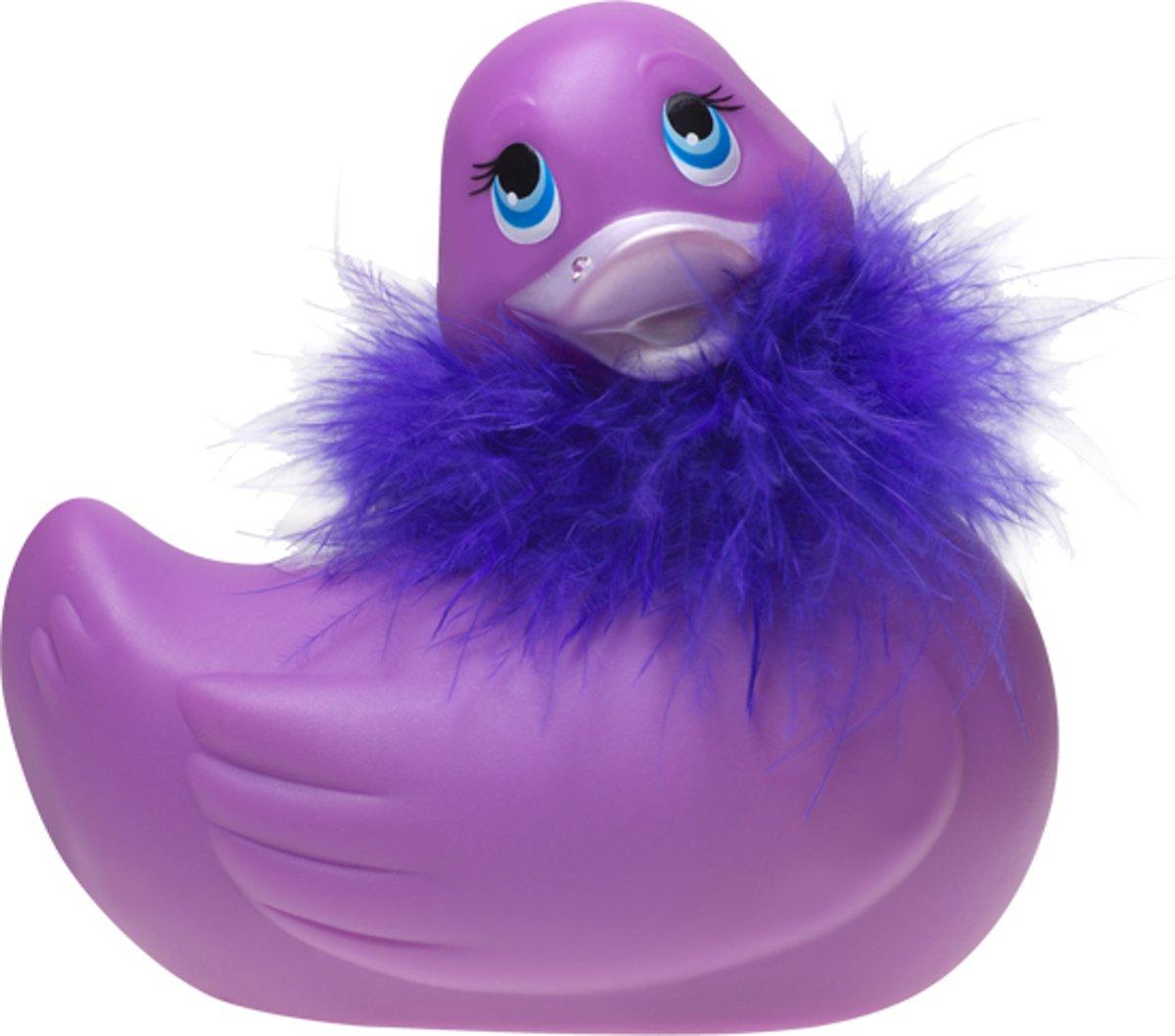 Foto van Big Teaze Toys I Rub My Duckie Paris - Paars - Vibrator