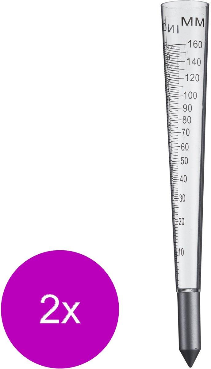 Nature Regenmeter - Kweekbenodigdheden - 2 x 4x4x30.8 cm Transparant kopen