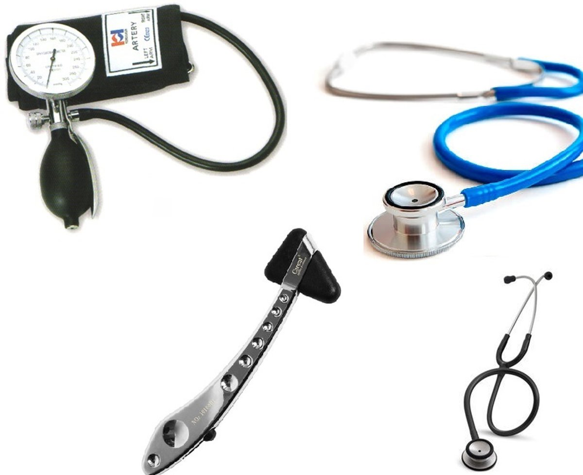 Handmatige bloeddrukmeter inclusief sprague rappaport stethoscoop ST-A056