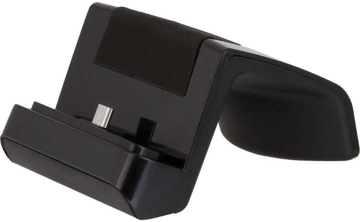 Docking station met MicroUSB aansluiting voor de Nokia Lumia 635 - black kopen