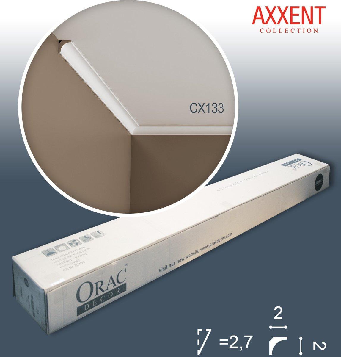 1 doos 10 Kroonlijsten Origineel Orac Decor CX133 AXXENT Plafondlijsten Sierlijsten 20 m kopen