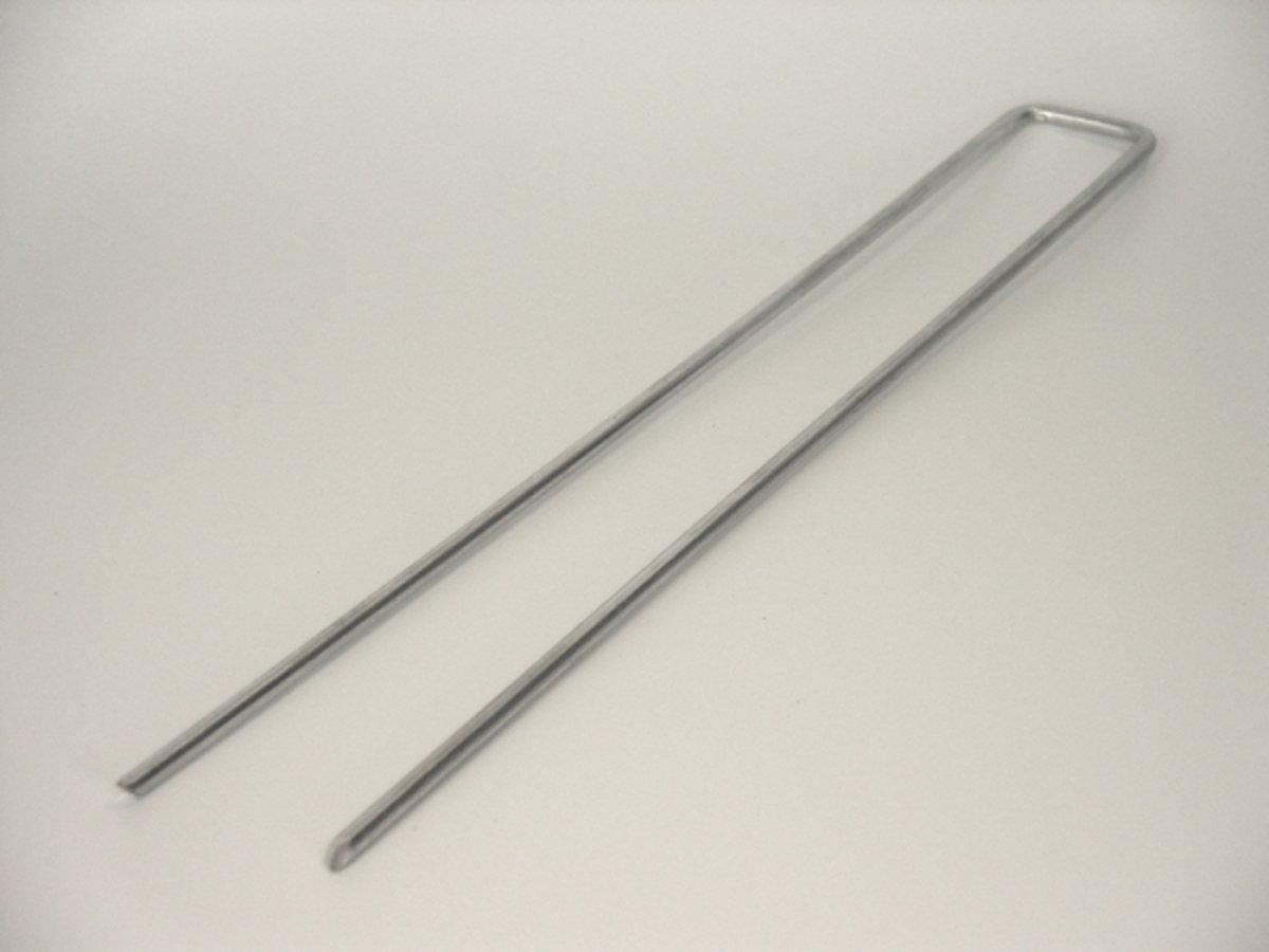 gronddoekpennen , kunstgraspennen , worteldoek haken 100 st , 30 x 5 x 30 cm