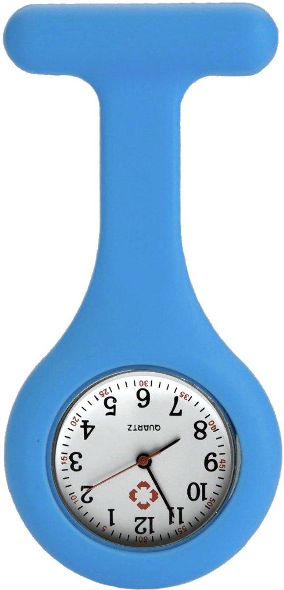 Fako Bijoux® - Verpleegstershorloge - Siliconen Uni - Blauw kopen
