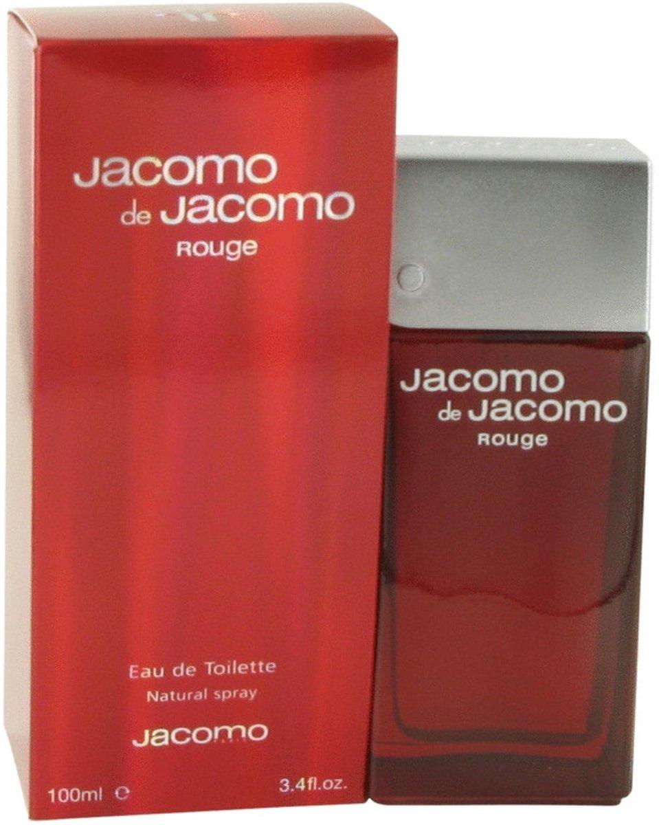 Jacomo De Rouge 100 Ml Eau Toilette Spray Herenparfum Parfum Penthouse Legendary Edt100