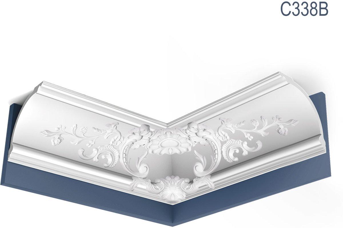 Kroonlijsten Origineel Orac Decor C338B LUXXUS Plafondlijsten Sierlijsten 2 m kopen
