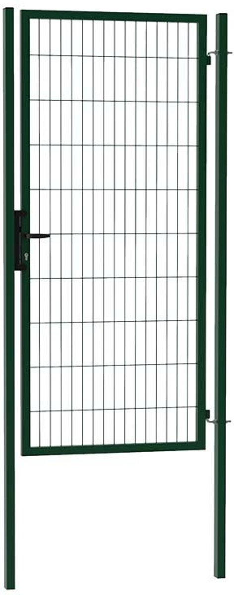 Enkele tuinpoort ECO 100 x 200 (bxh) groen RAL6009 kopen