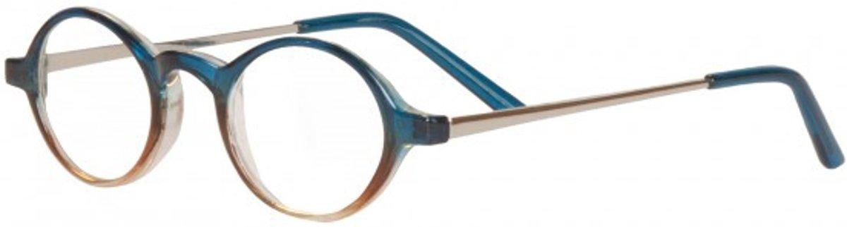 Icon Eyewear ICE337 Youp Leesbril +2.00  - Blauw - Beige - Metaal kopen