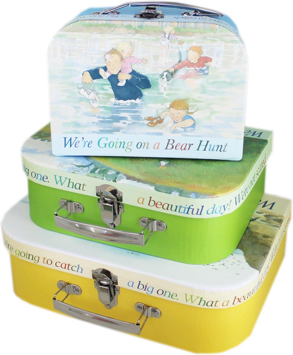 Kofferset - We're Going on a Bear Hunt kopen