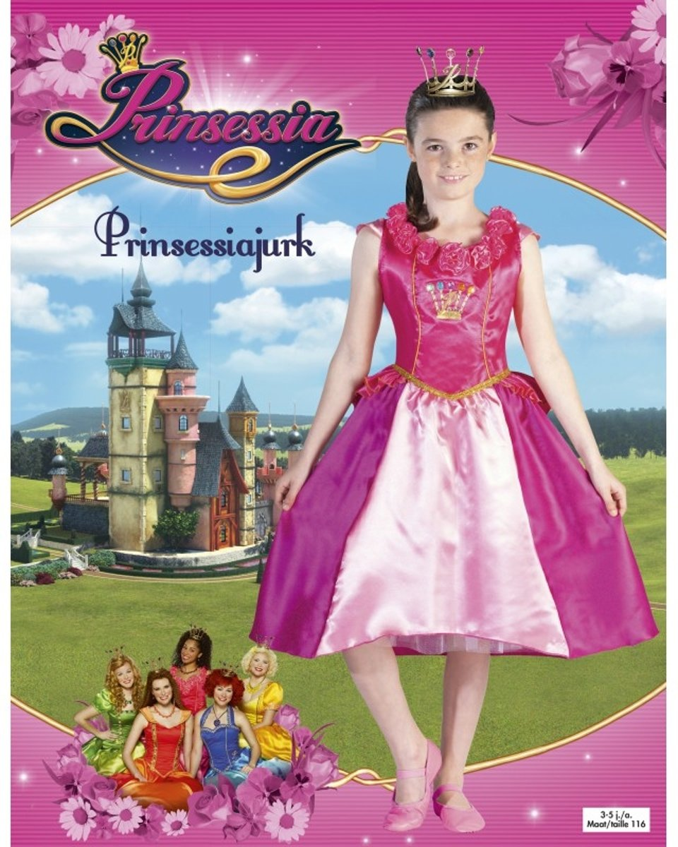 Prinsessia jurk groen