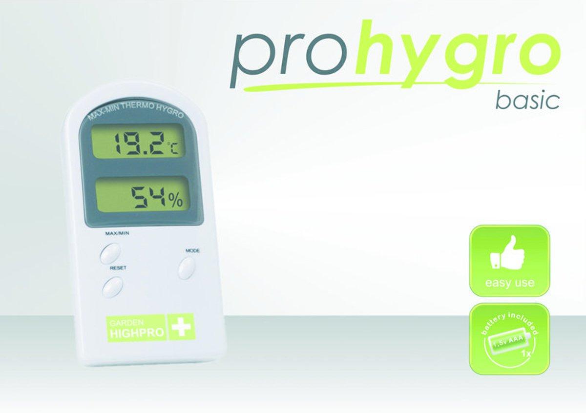 Thermometer Hygrometer Basic Garden Highpro kopen