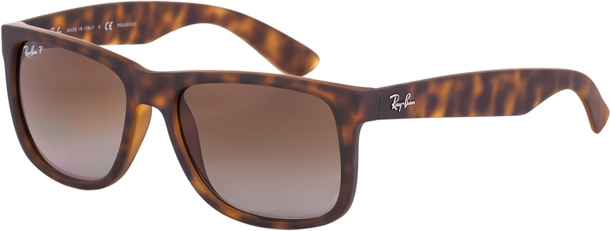 Ray-Ban RB4165 865/T5 - Justin (Classic) - zonnebril - Tortoise / Bruin Gradiënt - 55mm kopen