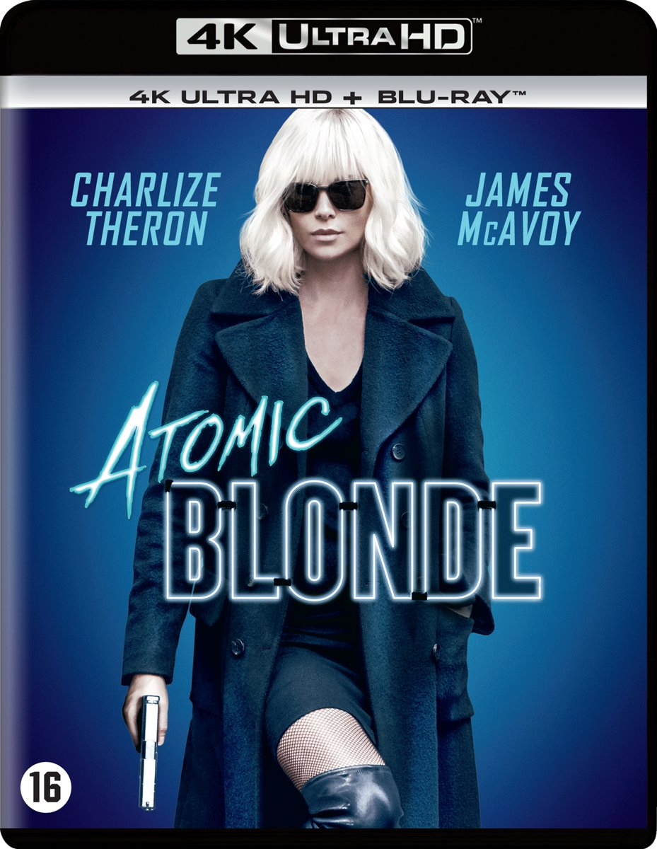 Atomic Blonde (4K Ultra HD Blu-ray)-