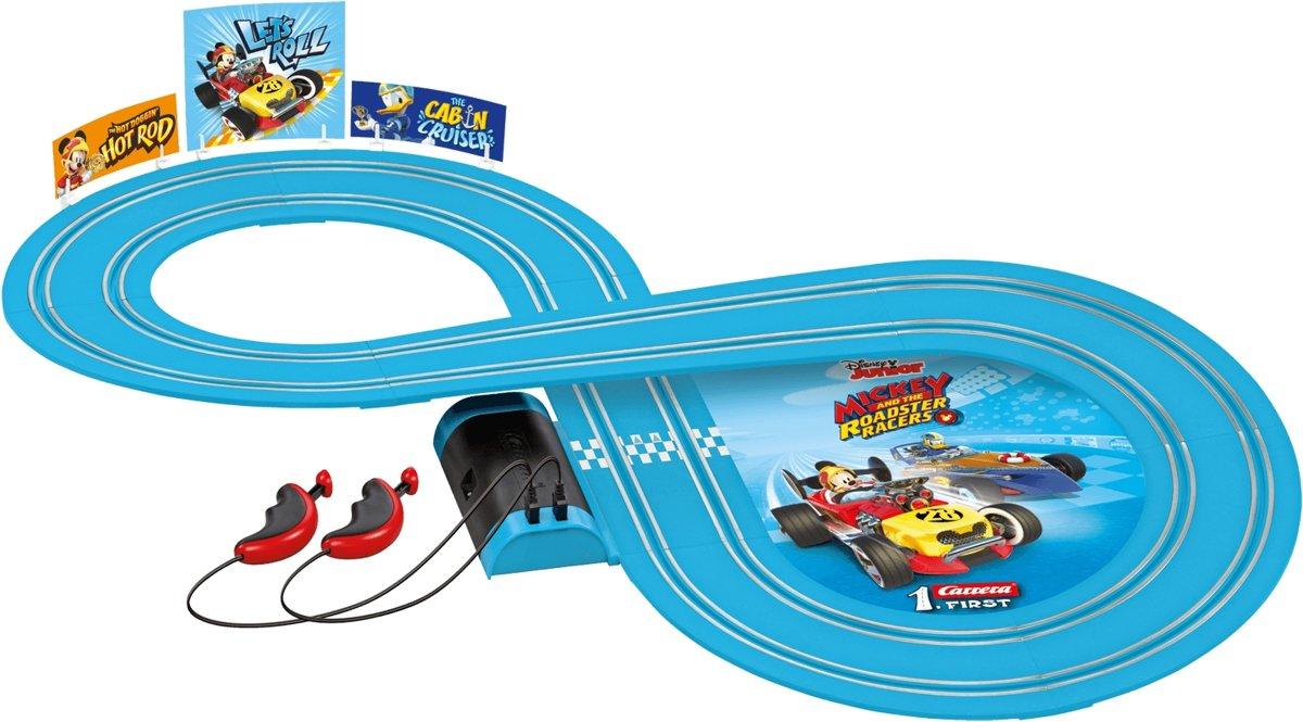 Carrera First Mickey Roadster Racers - Racebaan