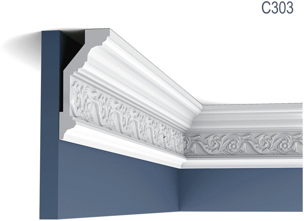 Kroonlijst Origineel Orac Decor C303 LUXXUS Plafondlijst Sierlijst 2 m kopen