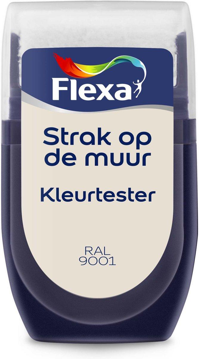 Flexa Strak op de Muur Muurverf Tester RAL 9001 30 ML kopen