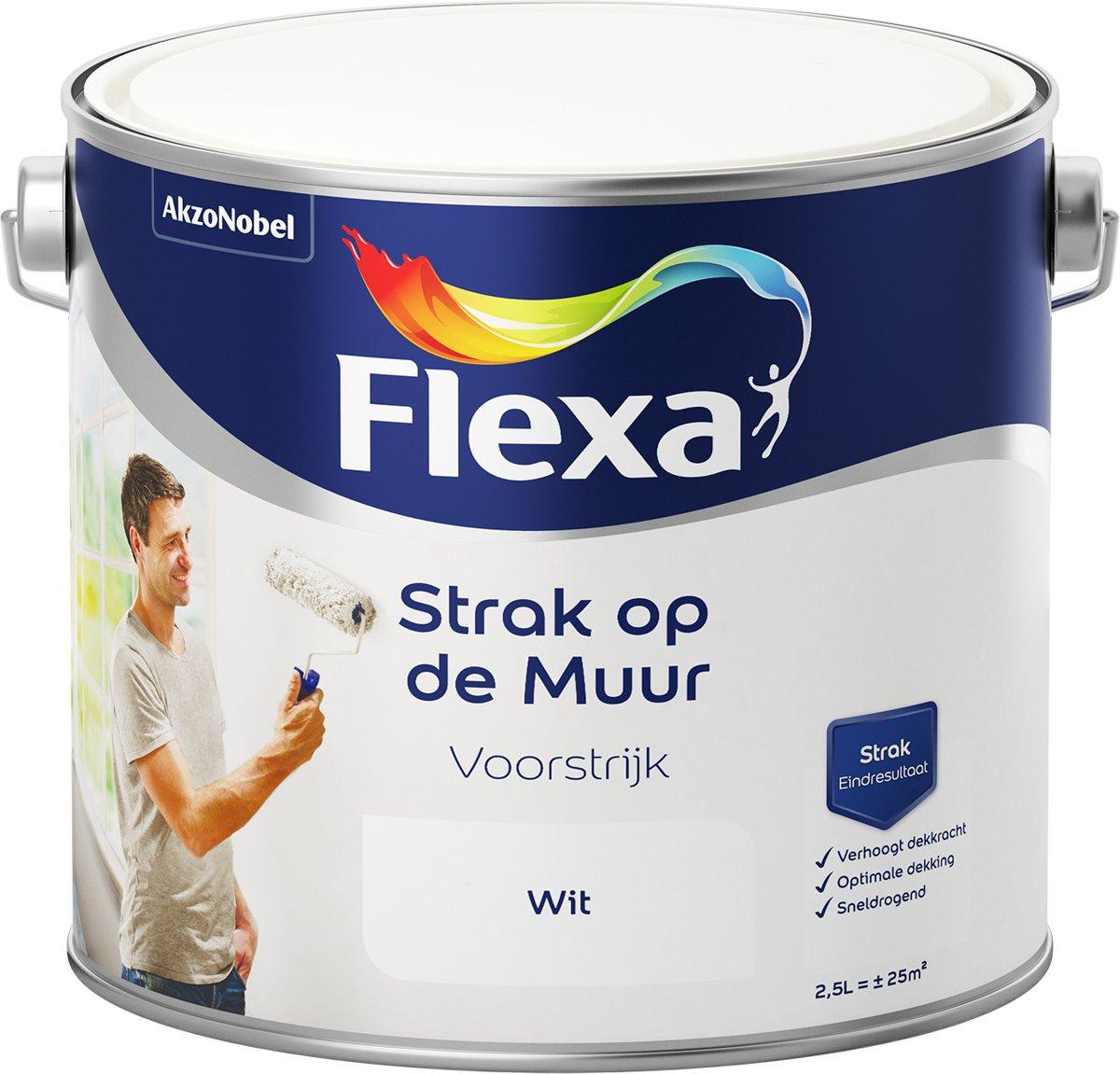 Flexa Voorstrijk - Watergedragen - wit - 2,5 liter kopen
