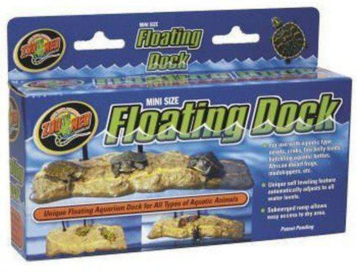 Zoomed Mini Floating Turtle Dock - Drijvend eiland - Reptiel Decoratie