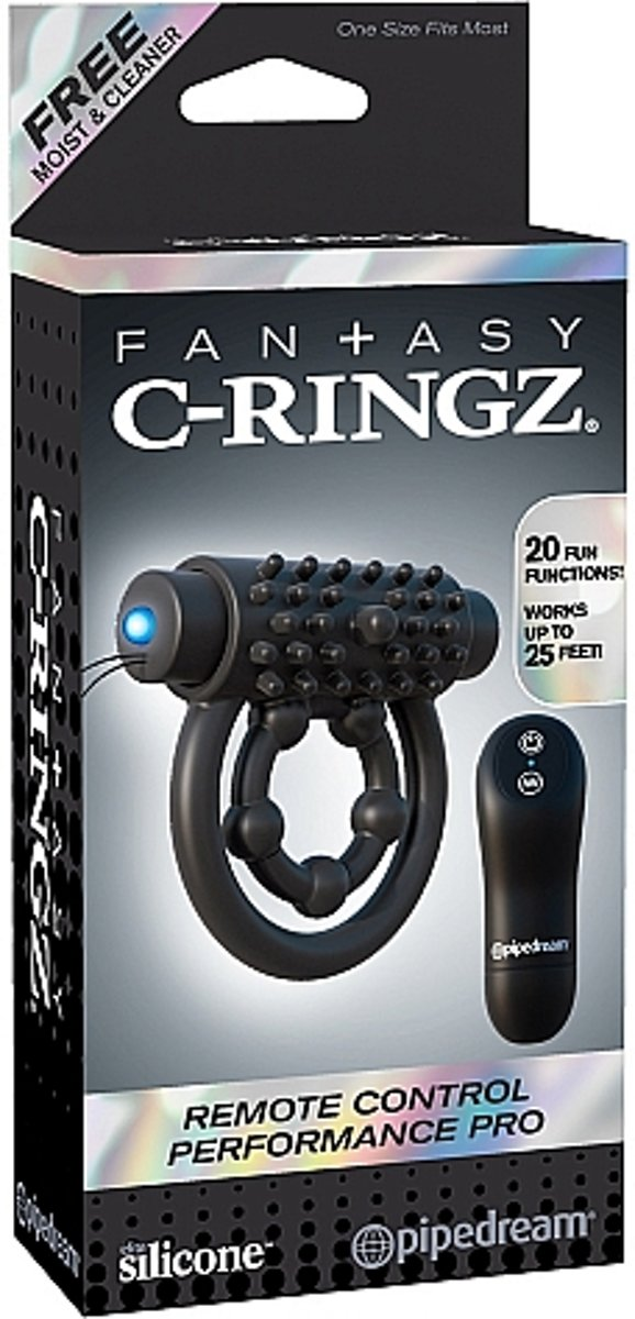 Health & Beauty Sexual Wellness Fantasy C-ringz Remote Control Performance Pro Pipedream Products
