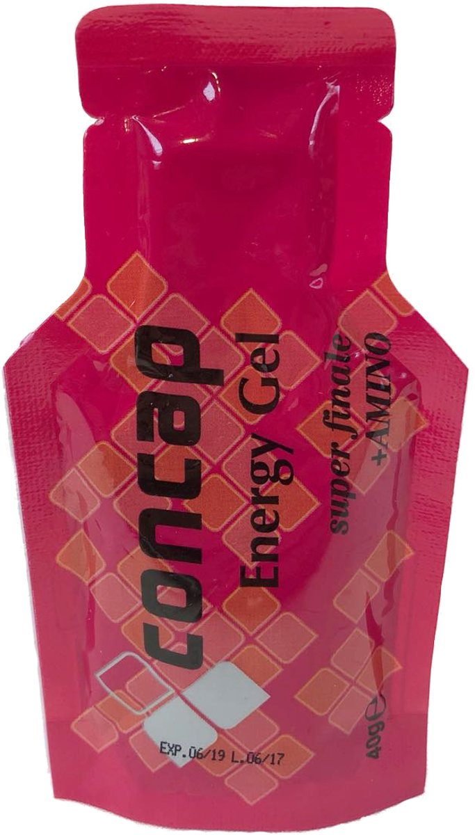 Concap Energy Gel Finale + Amino - 24 x 40 gram kopen