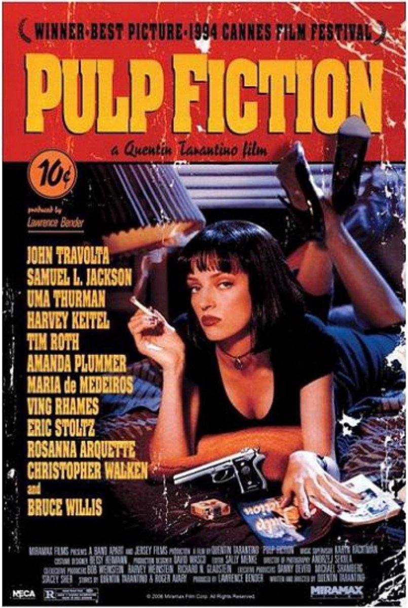 Poster Pulp Fiction 61 x 91,5 cm - filmposter kopen