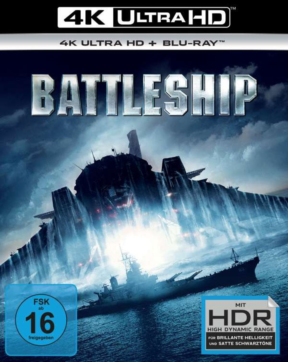 Battleship (Ultra HD Blu-ray & Blu-ray)-