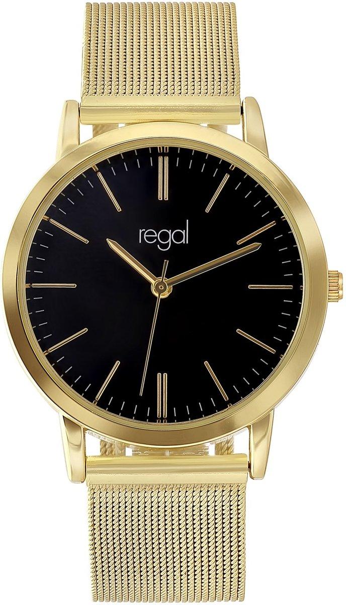 Regal - Regal mesh horloge goudkleurige band kopen