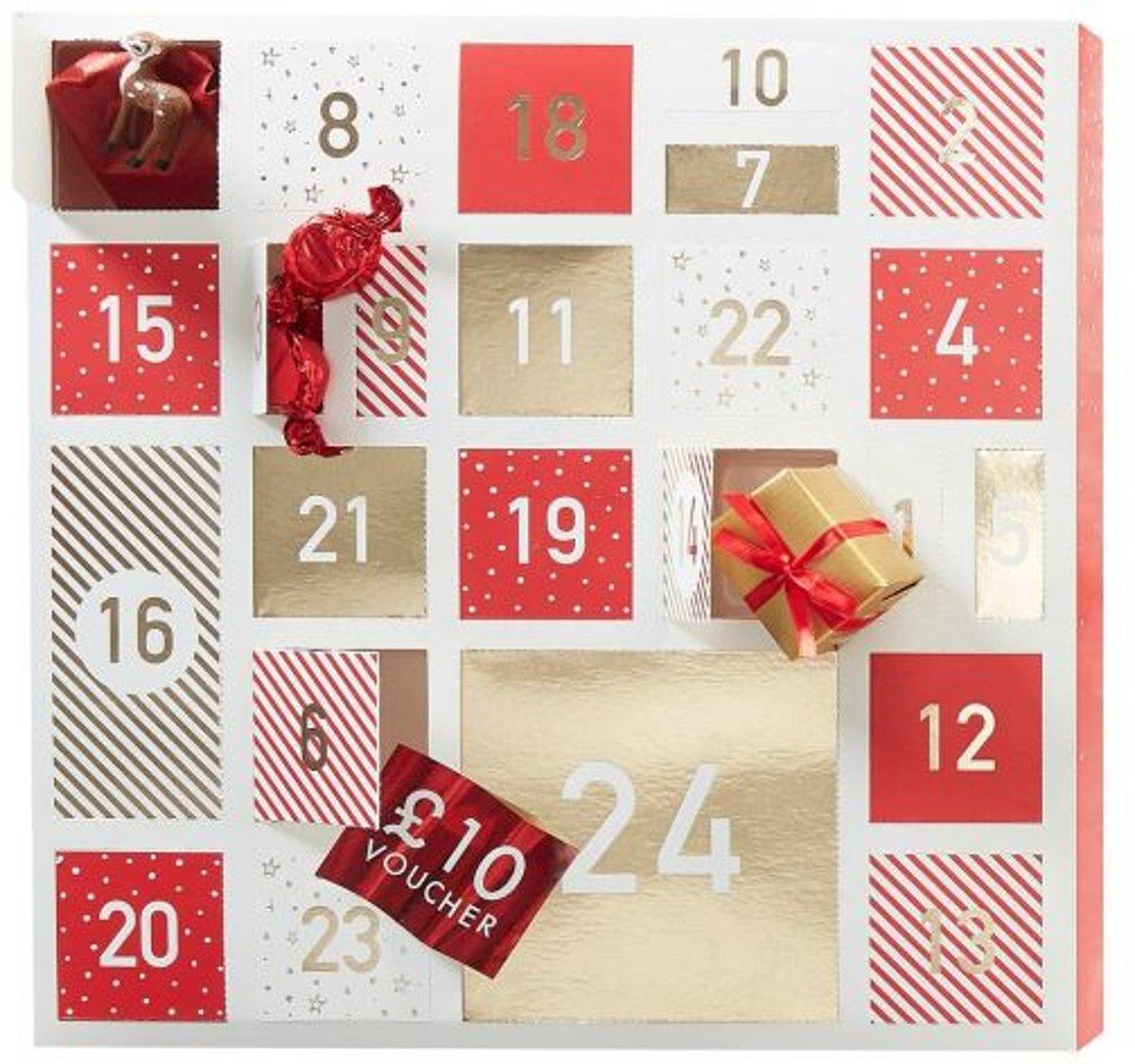Kerst advent kalender om zelf te vullen kopen