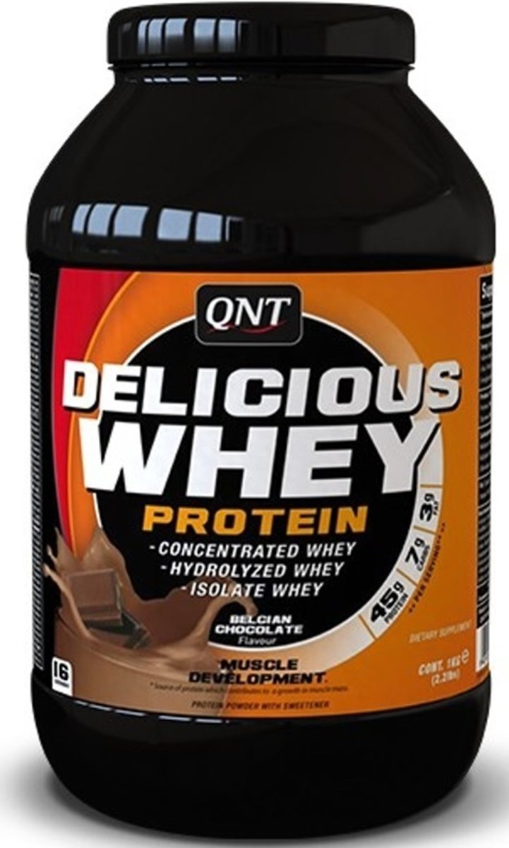 QNT Delicious Whey Protein Powder - Chocolade 908 gr kopen