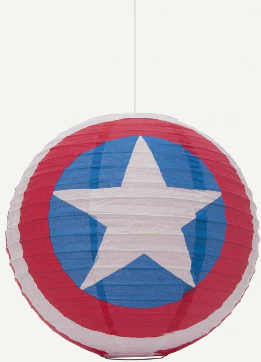 Captain America Marvel papieren lampenkap kopen