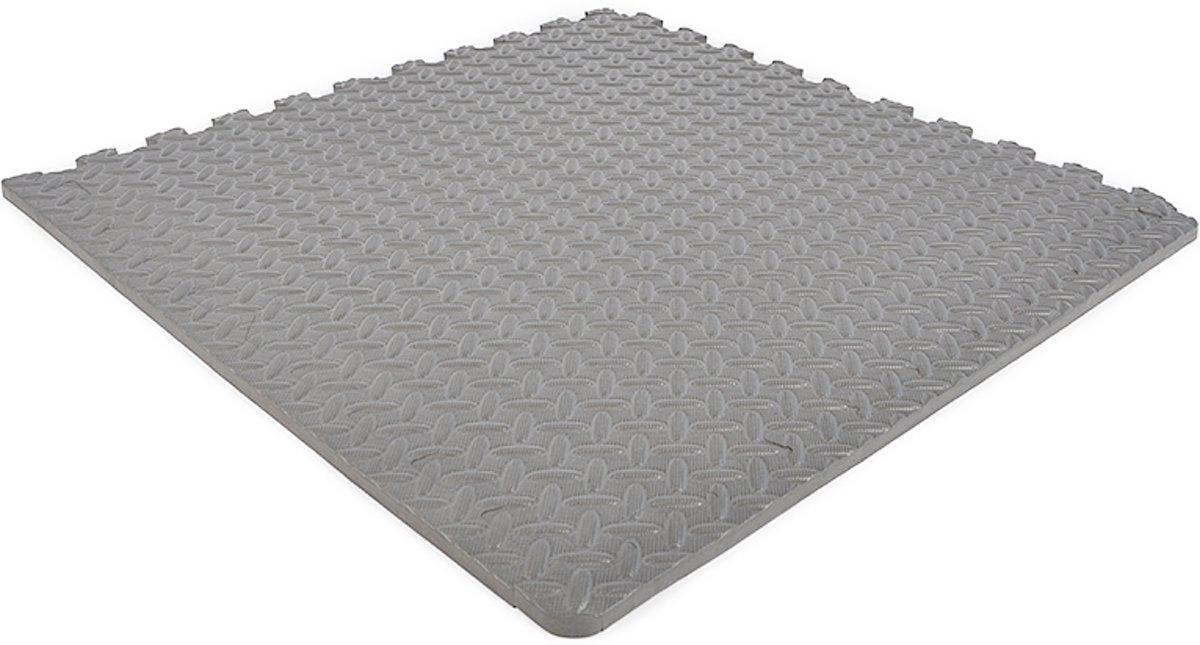 EVA FOAM tegels lichtgrijs 62x62x1,2cm (set van 40 tegels + randen) kopen