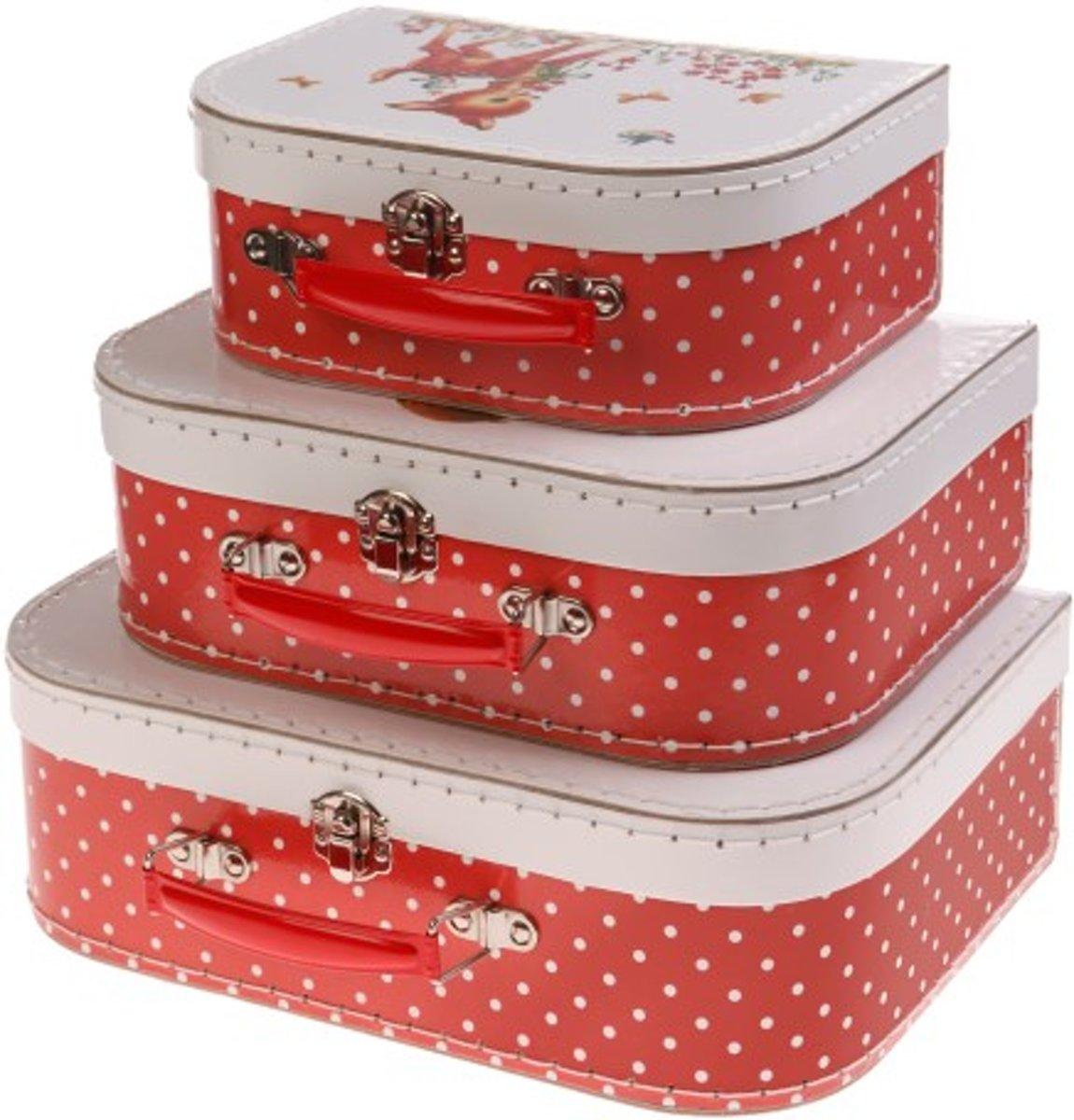 Kofferset Heidi & Friends (3-delig) kopen