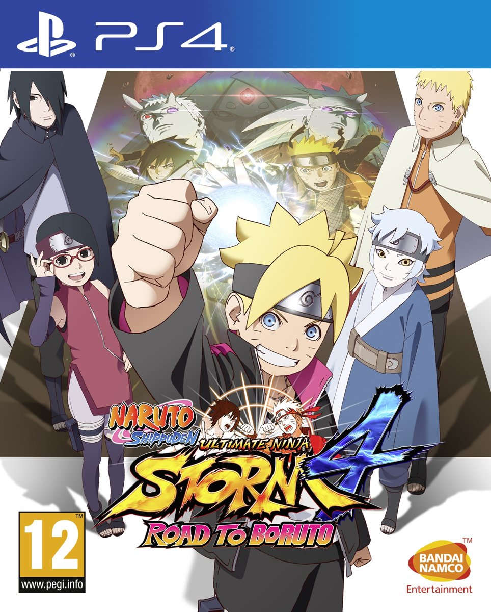 Naruto Shippuden: Ultimate Ninja Storm 4: Road to Boruto PlayStation 4