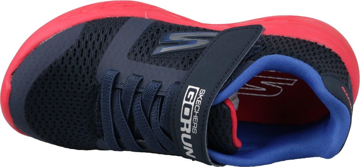 Skechers Go Run 600 97860L NVRD, Vrouwen, Blauw, Sneakers maat: 35 EU
