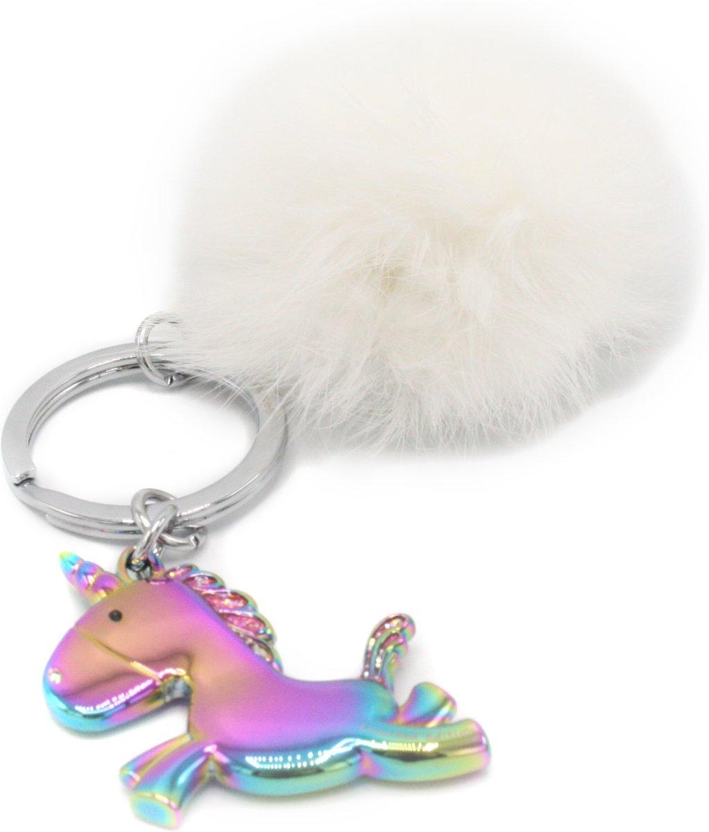 caddc9f3d3b bol.com | Eenhoorn Sleutelhanger Limited Edition met diamantjes en  Pluizenbol, RMEX | Speelgoed